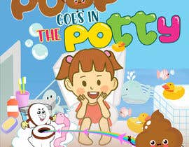 #115 for Design a Book Cover - Potty Training Book by xskrtzx