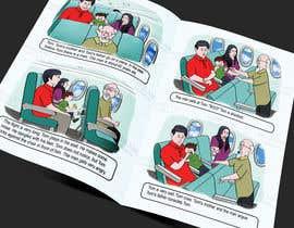 Nro 28 kilpailuun Draw double page for children book with four illustrations and text beneath käyttäjältä abhilashkp33