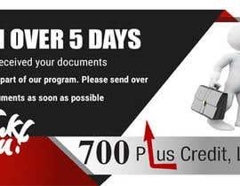 Nro 19 kilpailuun Need (5) individual flyers / graphics made for automatic emails sent to credit repair clients käyttäjältä khaledalmanse
