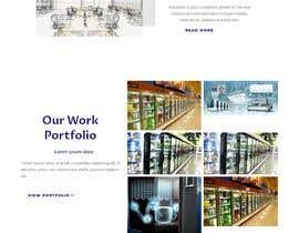 #82 cho Mockup Design for company website bởi devendarthapa