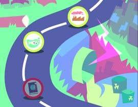 #49 para Illustrate a mobile game map por DyoudiFM