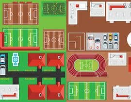 #3 for Create me 2D-Graphics for a Football Game in Sim-City-Style af abdulch838