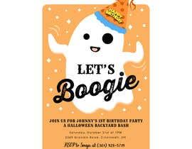 Nro 76 kilpailuun Quick Invitation Design, Halloween Birthday käyttäjältä Soufian1Hilia
