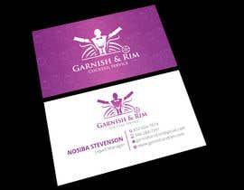 #221 for Design Business Cards For Bartender Company by Shovro9699