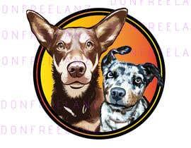 #40 for CARTOON DESIGN LOGO OF DOGS by donfreelanz
