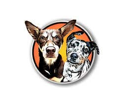 #32 for CARTOON DESIGN LOGO OF DOGS by mmmamon70