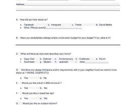 #5 untuk Writing Design Request Forms / Surveys oleh hafsahkhan04