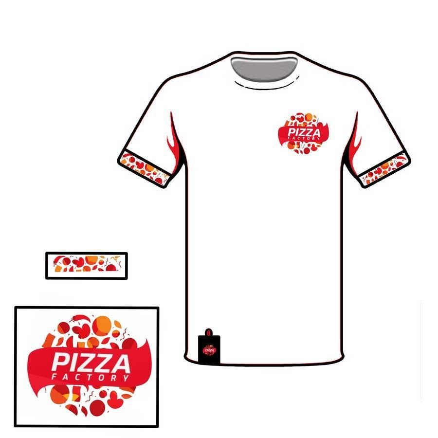 Kilpailutyö #                                        88                                      kilpailussa                                         Branding mockups for Pizza company