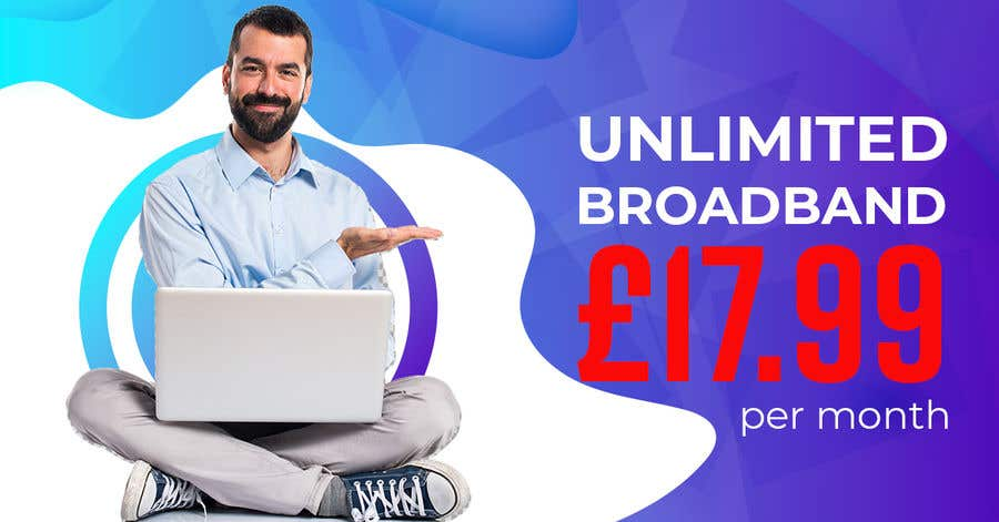Kilpailutyö #                                        22                                      kilpailussa                                         Create Broadband Advertisement