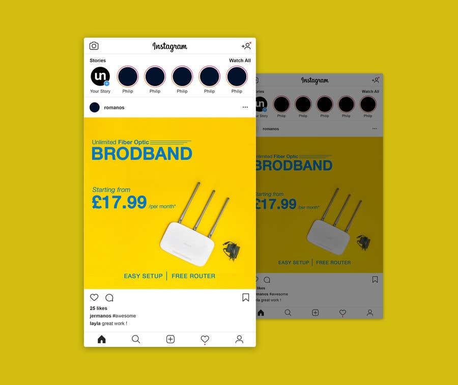 Kilpailutyö #                                        14                                      kilpailussa                                         Create Broadband Advertisement