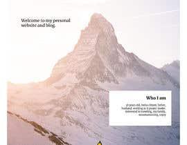 Nro 9 kilpailuun Design Personal Website käyttäjältä marianaconti