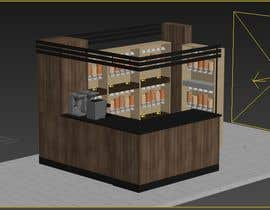 #37 для I need a design/ layout/ 3D model for a 3*4m spice & herbs  kiosk/stand in a shopping center. от Badraddauza