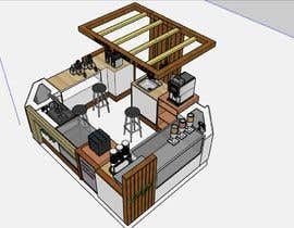 #12 для I need a design/ layout/ 3D model for a 3*4m spice & herbs  kiosk/stand in a shopping center. от CaesarEj