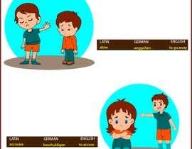 Nro 22 kilpailuun 50+ illustrations for Latin vocabulary training käyttäjältä artinnovation64