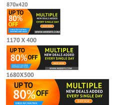 #28 for Need Daily Deals banners for My Website af Manpreetghumiara