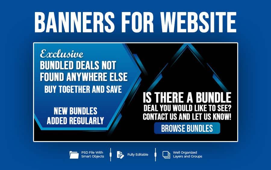 Konkurrenceindlæg #                                        59                                      for                                         Need Bundle Deals Banners for Website