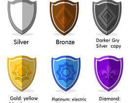 #34 cho Icon Design for Tiered Ranking System bởi kamransaroha