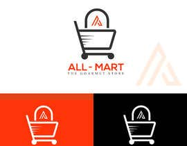 #124 for supermarket logo and name design starting with A by rahatkhan046
