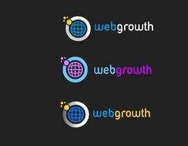 subhashreemoh tarafından Create Black Background Logo for WebGrowth.com için no 101
