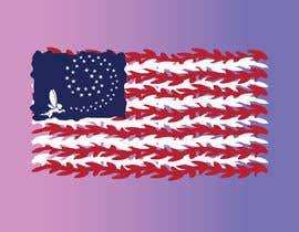 nº 16 pour graphic designer for a renditon of American Flag par TobyGFX