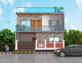 nº 26 pour G+1 Building Front Elevation par mukter728