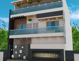 #27 for G+1 Building Front Elevation by Rabbialamin