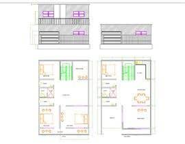nº 5 pour G+1 Building Front Elevation par SAYANDAS001