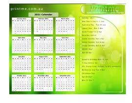 Nro 11 kilpailuun calendar design käyttäjältä bibekanandaseth1