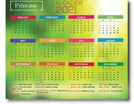 Nro 33 kilpailuun calendar design käyttäjältä mdrifat1999