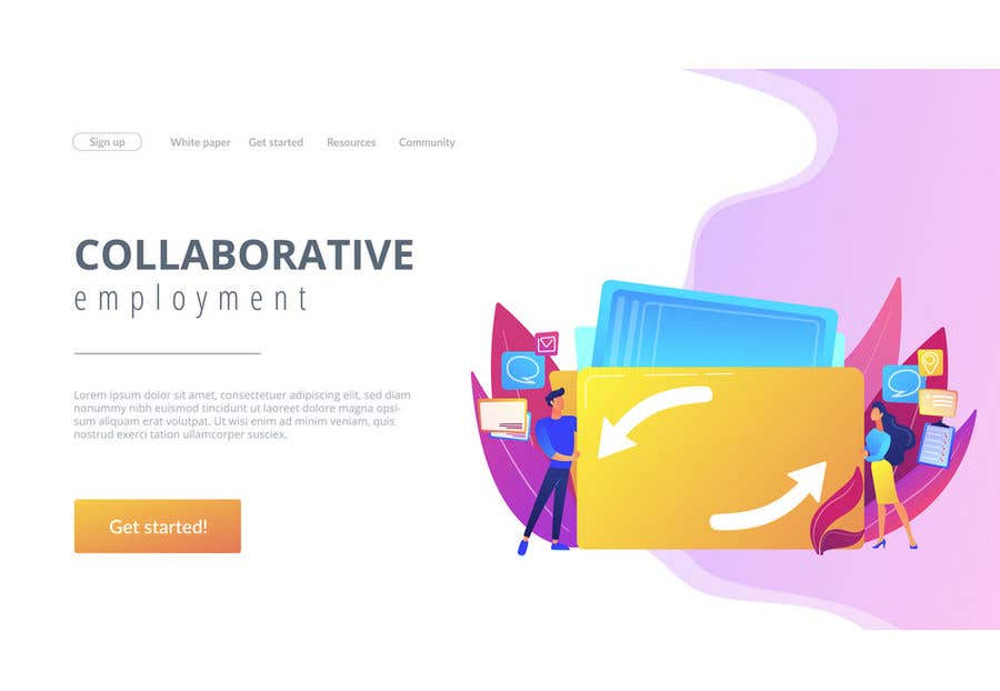 Contest Entry #                                        12                                      for                                         Create a design for job/idea sharing website