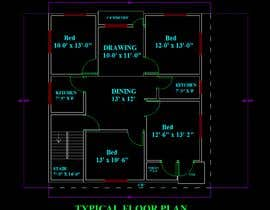 #26 for Modify a floor plan for an existing house af tanmoy0168