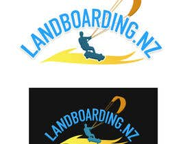 #65 for Logo design for Kite Landboarding, e.g. Kitesurfing, mountainboarding af utsabarua