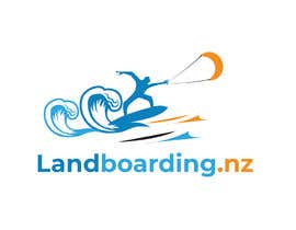 #24 for Logo design for Kite Landboarding, e.g. Kitesurfing, mountainboarding af MuhammdUsman