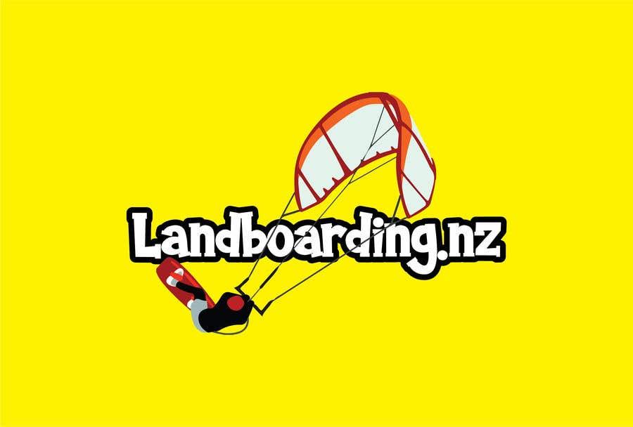 Konkurrenceindlæg #                                        88                                      for                                         Logo design for Kite Landboarding, e.g. Kitesurfing, mountainboarding