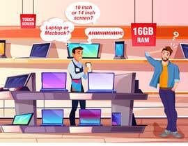 #17 untuk Computer Overload Cartoon oleh Karthikeyan1411