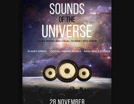 #97 for Design an A3 poster for a live music event with space theme. af shashankchavan7