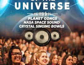 #183 for Design an A3 poster for a live music event with space theme. af Joy2025