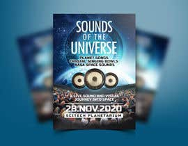 #212 for Design an A3 poster for a live music event with space theme. by ivaelvania