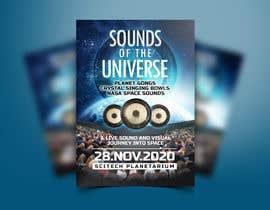 Nro 212 kilpailuun Design an A3 poster for a live music event with space theme. käyttäjältä ivaelvania