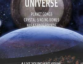 #205 for Design an A3 poster for a live music event with space theme. af yasineker
