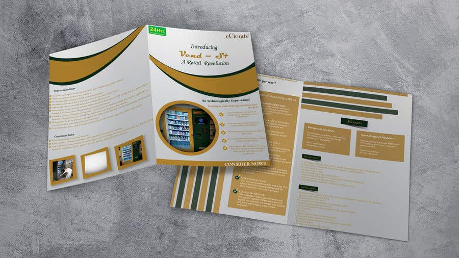 Contest Entry #                                        12                                      for                                         Design a Product brochure. A4 paper size for each page.