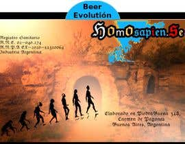 #6 para etiquetas logo cerveza artesanal homosapiens de pedronavarromal