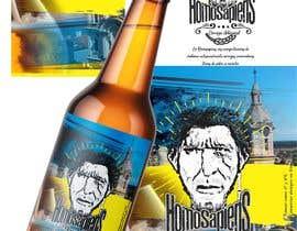 #10 para etiquetas logo cerveza artesanal homosapiens de nataliajaime