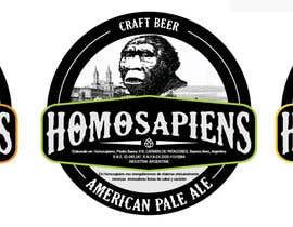 #18 para etiquetas logo cerveza artesanal homosapiens de Stevedevsign