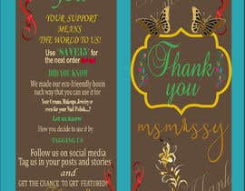#68 for I need to create an insert/thank you card by Trisnadas