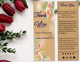 #54 for I need to create an insert/thank you card by arafatsaiful123