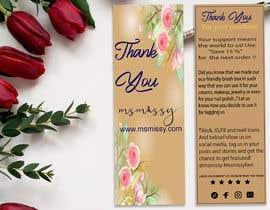 #54 untuk I need to create an insert/thank you card oleh arafatsaiful123