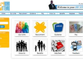 nº 5 pour Modify an existing Intranet Site for a department sub unit par designerartist
