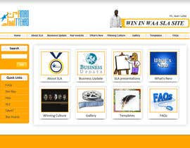 nº 16 pour Modify an existing Intranet Site for a department sub unit par sm4a