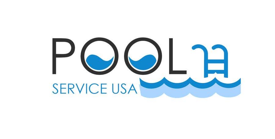 Konkurrenceindlæg #                                        37                                      for                                         Pool Service USA Logo